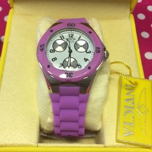 Invicta Women's Lavender Silicone Watch